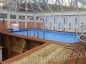 Plastica 4.2m x 2.4m Bespoke Wooden Exercise Pool